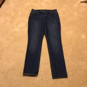 Old Navy Curvy Straight Jeans